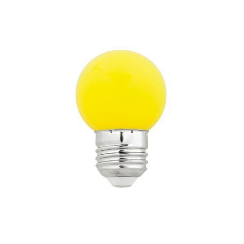 G45 LED E27 1W AMARILLA