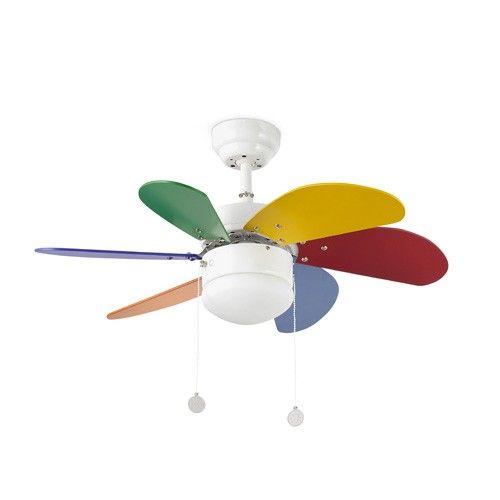 PALAO Ventilador de techo con luz ref. 33179